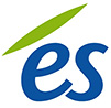 ES logo-bleu